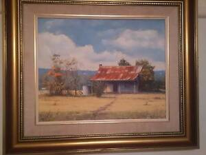 Original Oil Painting/Win Williams. Watercolour/Gladstone Eyre Pitt Town Hawkesbury Area Preview
