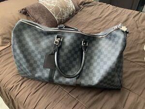 LV Louis Vuitton Keepall 55 Duffle Bag