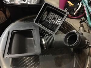 2017 Ford F-150 FX4 Stock Air intake system