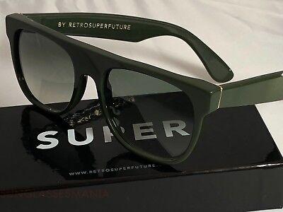 Retrosuperfuture Flat Top Sottobosco Frame Sunglasses SUPER 760 NIB FAST SHIP