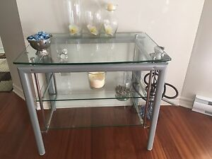 Structube glass table