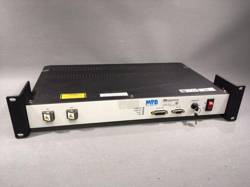 MPB 1RU-P15 L-AC-2-CA A-04983-1 Fiber Amplifier Preamplifier Booster