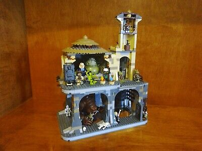 Lego Jabba's Palace Rancor Pit Double CUSTOM 9516 75005 Boushh OolaBib Fortuna