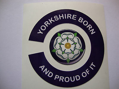16 YORKSHIRE  BORN CROWN & FLAT GREEN BOWLS STICKERS  8 FINGER + 8 THUMB  BOWLS