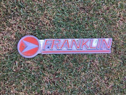 Vintage caravan badge only for Franklin $45 posted