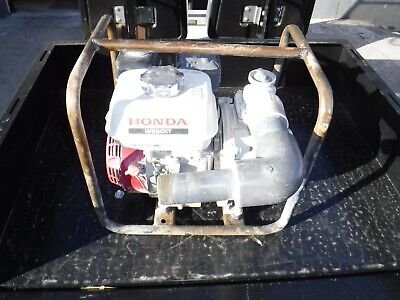 Honda Wb20xt Water Pump With Frame Works Great