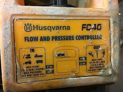 Husqvarna Fc-40 Hydraulic Adjustable Flow Control Valve