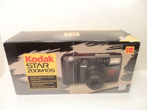 Kodak Star Zoom 105 Point & Shoot Film Camera w/ 38-105mm Ektanar Zoom Lens Vtg