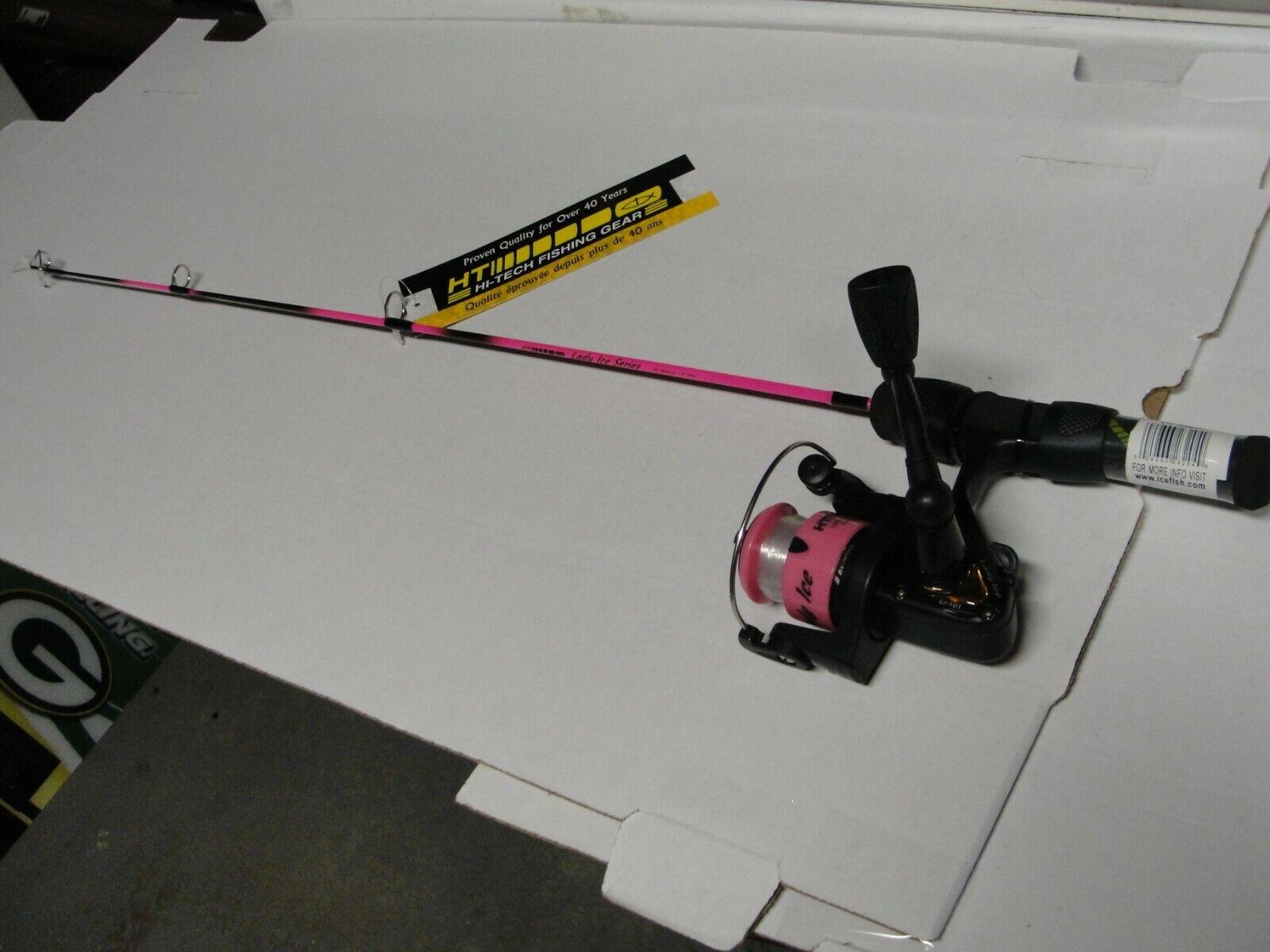 Lady Ice Series 25 Medium Action Ice Fishing Combo - $14.99
