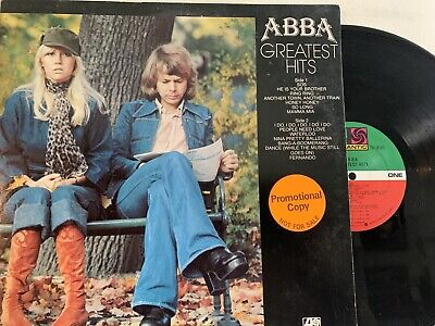 ABBA – Greatest Hits LP 1978 Atlantic SD 18146 Promo Copy EX - Gatefold!
