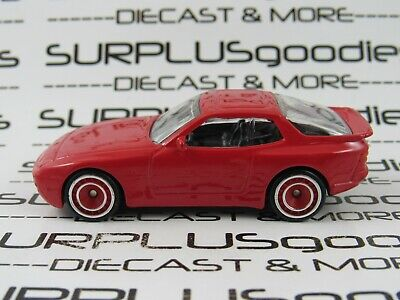 Hot Wheels 1:64 LOOSE Red 1989 '89 PORSCHE 944 Turbo Custom SUPER w/Real Riders