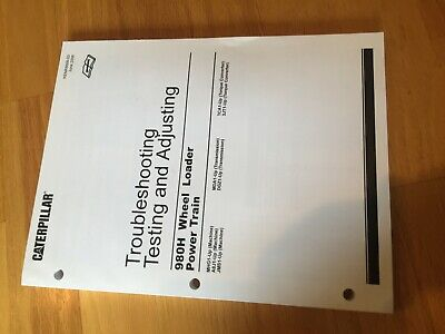 Cat Caterpillar 950g 962g Wheel Loader Hydraulic Trouble Testing Service Manual
