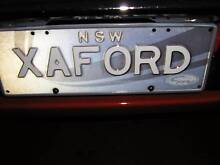 NSW Number Plates      XA FORD Wollongong 2500 Wollongong Area Preview