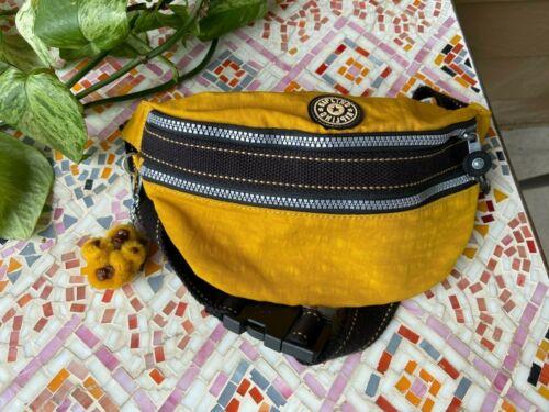 KIPLING HARVEST YELLOW fanny pack nylon belt bag