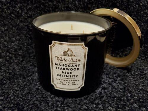 Bath & Body Works- Mahogany Teakwood High Intensity White Ba