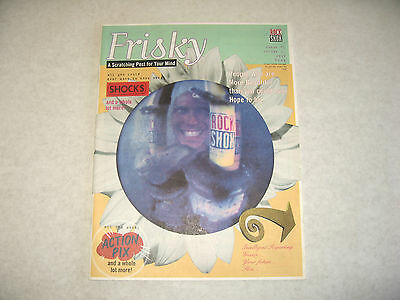 Frisky : A Scratching Post for Your Mind ~ Issue 1 Volume 1 ~ Rock Shox Magazine