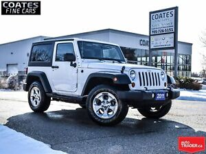 2011 Jeep Wrangler Sport NO ACCIDENTS ONLY 94, 870 km