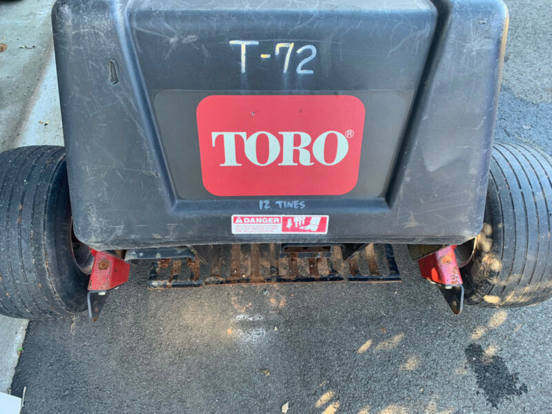 Toro Walk behind Aerator