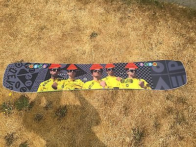 Gnu DEVO Whip It Collab Snowboard - RARE and VERY LIMITED - Size 159 - COLLECTOR (Gnu Whip It)