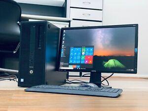 CORE i5 6th GEN HP Desktop 8GB DDR4-256GB SSD-2TB 2000GB WiFi 8x USB3