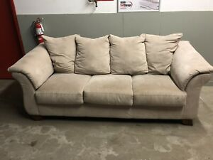 Beige Couch ****Free Delivery Included****