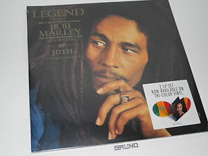 LP: Bob Marley - Legend 30th Anniversary, Ltd. Tri-Color Vinyl, NEU (A6/2)