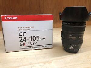 Canon EF 24-105 f4 L lens
