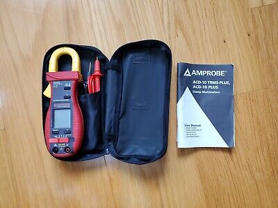Amprobe Acd-10 Trms-plus Digital Clamp Meter40 Mohms600a