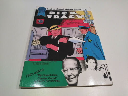 Dick Tracy Book 7, Blackthorne Publishing, BINDING PRINTING ERROR 1st ed 1986