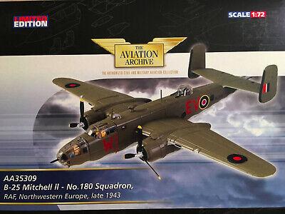 B-25 Mitchell II Europe 1943 Corgi Aviation Archive AA35309 1/72 North American