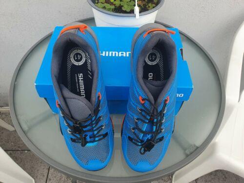 Herren Damen MTB Schuhe Shimano SH-MT44B Lihtning BLUE GRÖßE 41