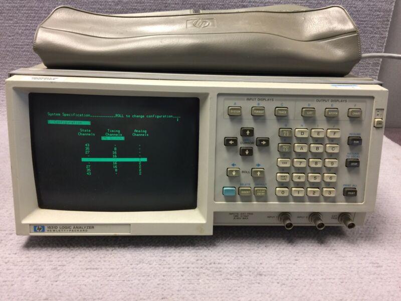 HP Hewlett Packard 1631D Logic Analyzer W/ Probes