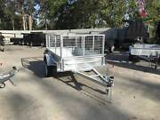7x4 Box Trailer Single Axle Heavy Duty Galvanised with 2ft cage Loganholme Logan Area Preview