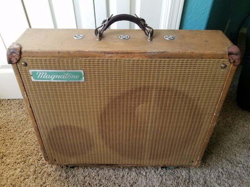 magnatone 180 triplex amplifier $1,900 shipped