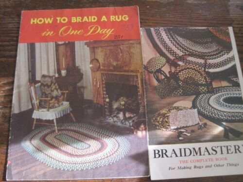 1949 How to Braid a Rug in One Day BY NU-FLEX&BRAIDMASTERY BY R. PETER ASSOC