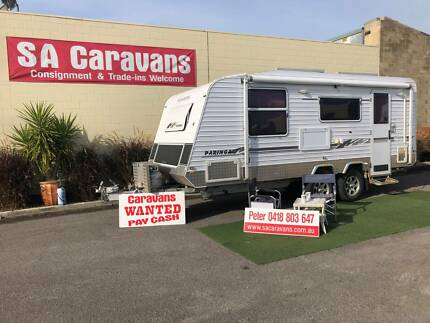 "2011 AUSSIEWIDE ""PARINGA"" 20' OFF ROAD CARAVAN with REAR ENSUITE Klemzig Port Adelaide Area Preview"