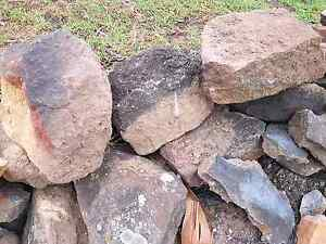 Free Garden Bed Sandstone Rocks recycle Liverpool Liverpool Area Preview
