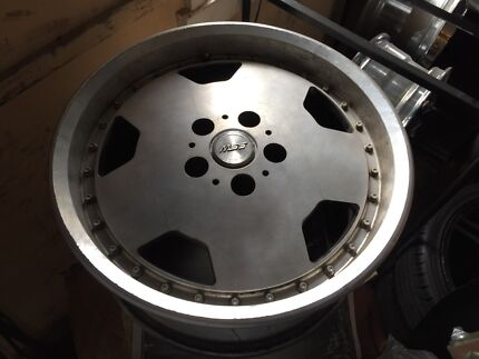 """17"""" staggered jdm wheels 5 114.3 Toyota nissan mazda ford Crestmead Logan Area Preview"""