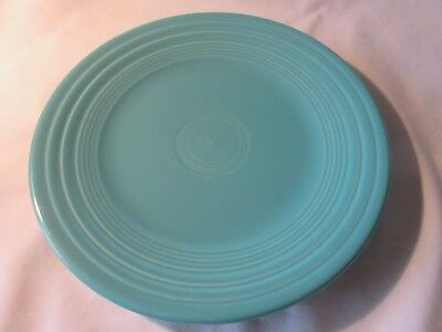 - Contemporary Fiesta Ware Turquoise Lunch Buffet Plate Fiesta  9 inch Plate