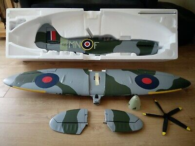 E Flite RC Spitfire Mk14 1.2m Bind and Fly NEW and NEVER FLOWN!