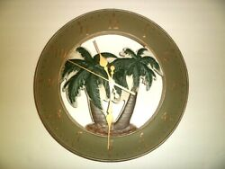 Ashton Sutton 13.5 Palm Tree Wall Clock