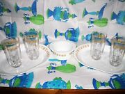 Vintage Butterfly Drinking Glasses