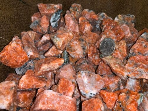 3000 Carat Lot of Unsearched Orchid Calcite Rough + a FREE faceted gemstone
