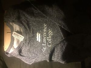 St. Lawrence college sweater $20