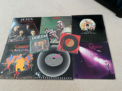 QUEEN Vinyl Lot Of 8 First Pressings Day At The Races, Jazz, News Of The World