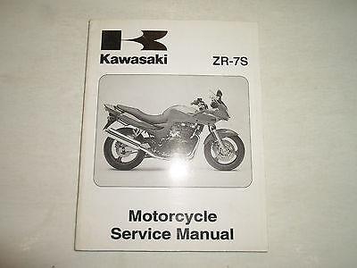 2001 Kawasaki ZR-7S Motorcycle Service Repair Shop Manual FACTORY OEM BOOK 01