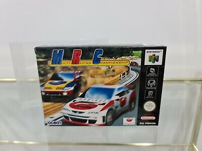 BRAND NEW MRC: Multi Racing Championship (Nintendo 64, N64) PAL MINT