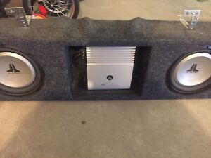 Subs/Amp in box