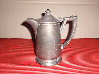 ANTIQUE/VINTAGE SILVER PLATED COFFEE OR TEAPOT INTERNATIONAL SILVER  APROX. 7""