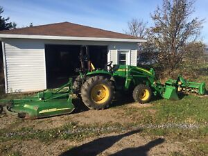 JD Tractor with attachments